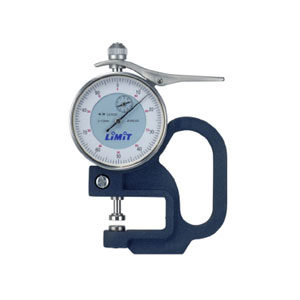 LiMiT DIAL THICKNESS GAUGE - 0-10 X 30MM**