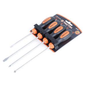 Tactix 4pc Screwdriver Set
