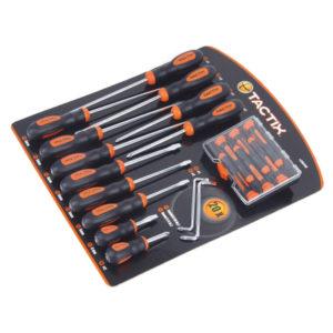 Tactix 20Pc Screwdriver Set