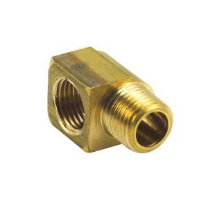 Champion Brass 1/4in BSP F/M Elbow