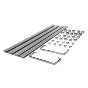 Teng 33Pc 450mm 4-Track Clip Rail Tray w/Clips