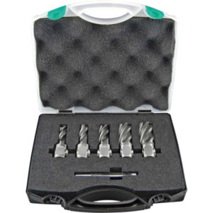 HOLEMAKER 6PC SILVER SERIES ANNULAR CUTTER SET