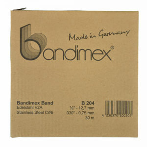 Bandimex B204 Band 1/2in x 30m (ea)