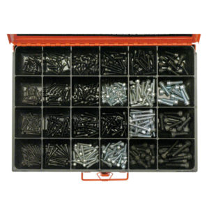 430PC METRIC SOCKET HD CAP SCREW ASSORTMENT GR8.8