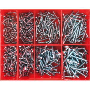 Champion 400pc Slotted Self Tapping Screw Assortment