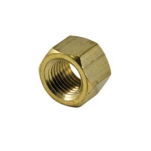 Champion 3/8in UNF Brass Manifold Nut - 25pk