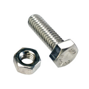 Champion 1-1/2in x 1/2in Set Screw  & Nut (C) - GR5