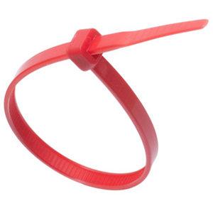 ISL 380 x 4.8mm Nylon Cable Tie - Red - 100pk