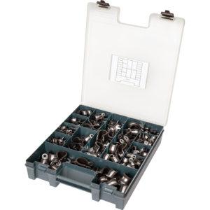 Kale 240pc Ezi-Pak P-Clip Assortment 15/20mm Grab Kit W3