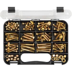 Champion GJ Grab Kit 130pc High Tensile Hex Bolts & Nuts -UN