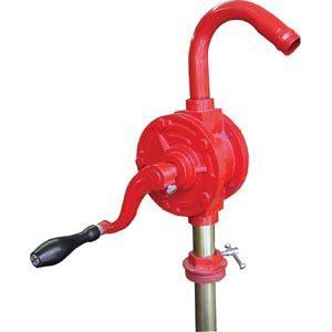 Groz Rotary Barrel Pump W/3pc Rigid Suction Tube