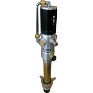 Groz 1:1 Ratio Air Dbl Acting Oil Pump (Stub) BSP