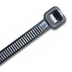 ISL 380 x 4.8mm UV Nylon Cable Tie - Blk. - 100pk