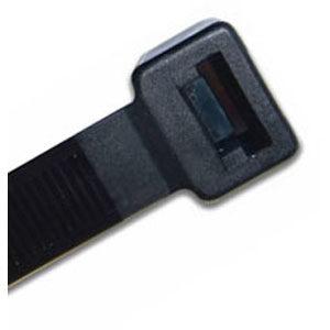ISL 760 x 9.0mm UV Nylon Cable Tie - Blk. - 50pk