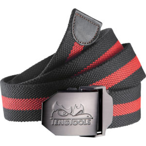 Teng Black/Red Oxford Belt