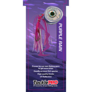 TacklePro Kabura Lure 140gm - Purple Rain