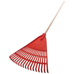 Atlas 18T Orange Plastic Leaf Rake - AT05100