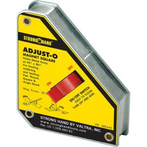 Stronghand Adjust-O Magnet Square 45/ 90deg. 30 KG
