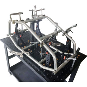Stronghand Rhino Cart - Table + 122pc (3D) Fixturing Kit