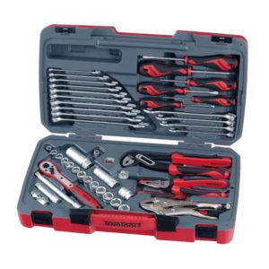 Teng 48pc 3/8in Dr. Metric/AF Socket & Tool Set