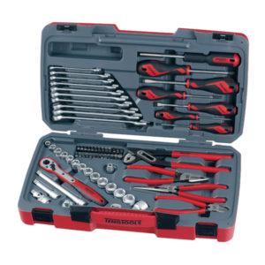 Teng 67pc 3/8in Dr. Metric Socket & Tool Set