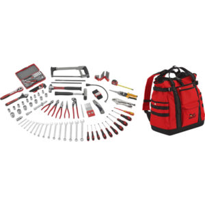 Teng 144pc Tool Kit w/ TCSB Backpack Toolbag