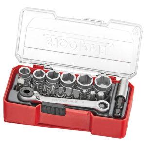 Teng 19pc 1/4in Dr. Socket Set 8-13mm