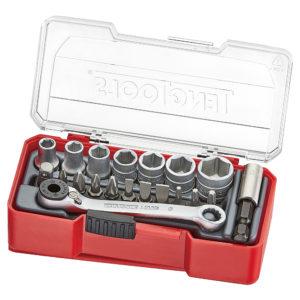 Teng 20pc 1/4in Dr. Socket Set 5.5-13mm