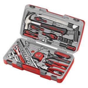 Teng 79pc 3/8in Dr. Metric Socket & Service Tool Kit