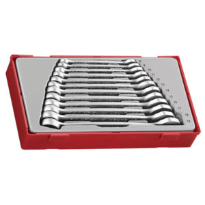 12PC ANTI-SLIP ROE COMB. SPANNER SET 8-19MM