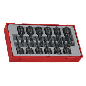 12PC 1/2IN DR. TORX (TX) SOCKET SET TX10-70