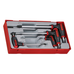 7PC T-HANDLE  HEX SET 2.5-8MM