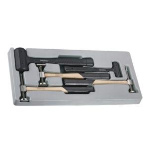 Teng 5pc Auto Body Hammer Set - Ps Tray