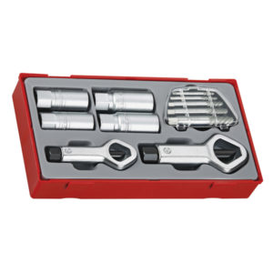 11PC STUD & NUT REMOVER SET
