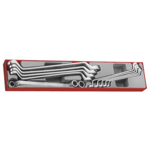 11PC DOUBLE RING SPANNER SET 6-32MM