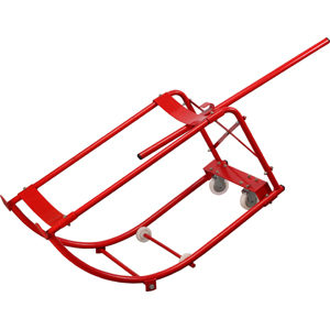 Groz 55Gal/205L Drum Cradle W/Swivel Wheels