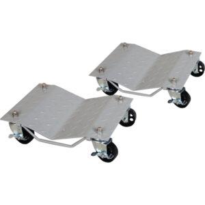ProEquip Vehicle Wheel Dollies 680kg (1500lb) Pair