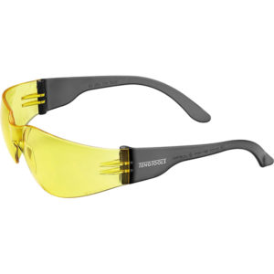 Teng Anti-Fog Safety Glasses - Yellow - AS/NZS1337